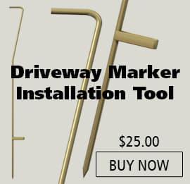 Driveway Marker Installation Tool