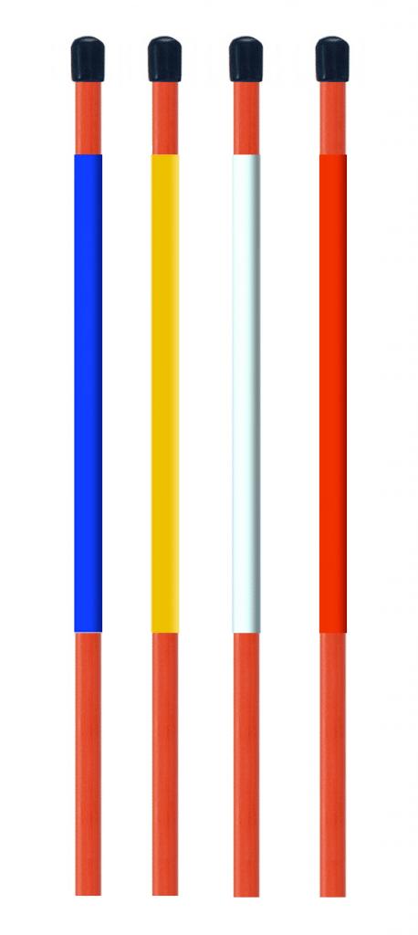 5 u0026 39  x 1  4 u0026quot  custom color markers with cap and reflectors
