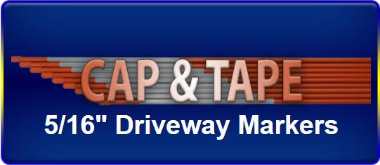 Driveway Marker Cap & Tape