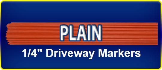 Plain Driveway Marker
